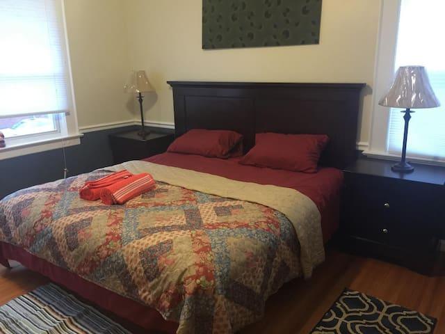 Victorian Cozy Room - Kearny - Casa