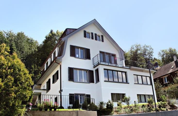 Spacious apartment near town center - Baden - Leilighet