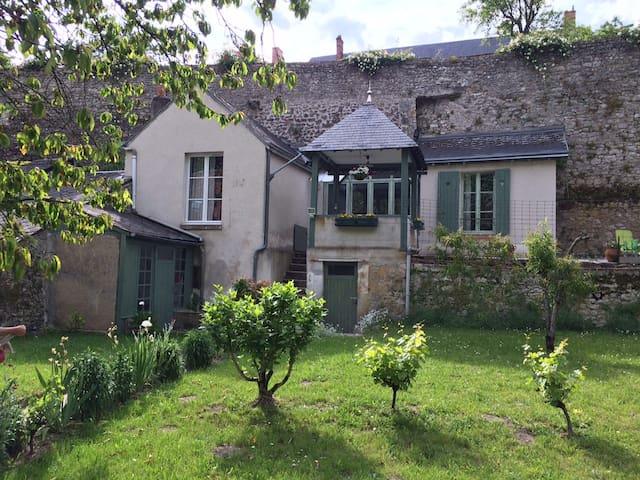 GITE vue sur Loire, citée médiévale - Beaugency