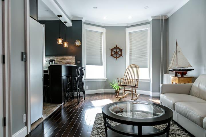 Luxe 1-Bedroom Flat Near Manhattan - Weehawken - Apartemen