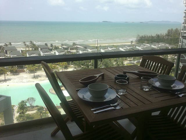 Condo on the beach Kho Samet view - Kram - Departamento