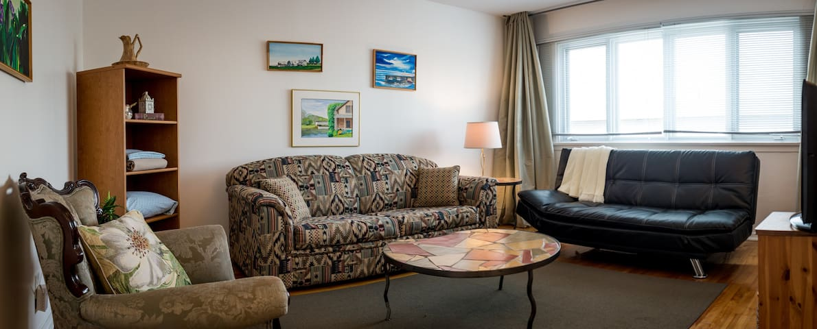 Montreal, Apartment next to Airport + Free Parking - Montreal (Dorval) - Apartamento
