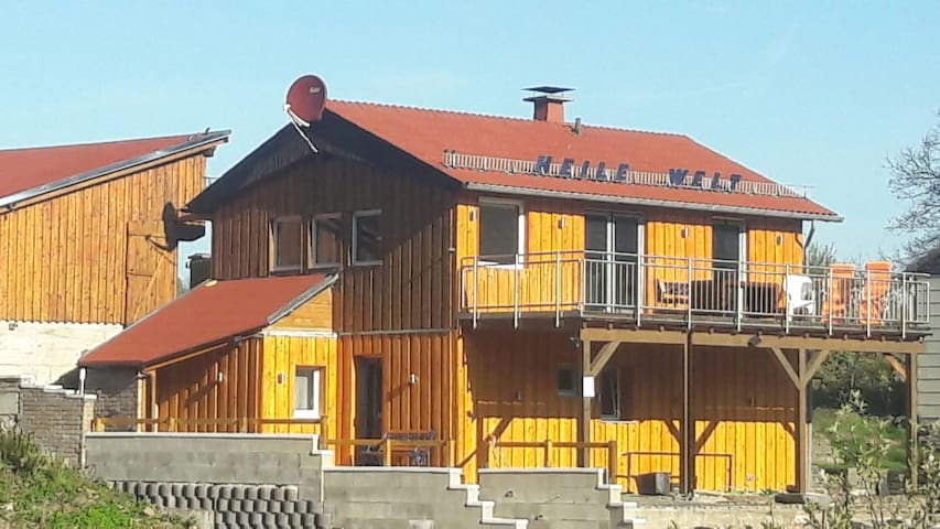 Ferienhaus HEILE WELT (2-10 Pers.) Hunde erlaubt - Windfus / Reichshof - Dom