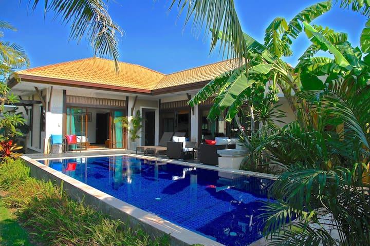 Luxurious design villa with private pool (Hua Hin) - Tambon Nong Kae - 別荘