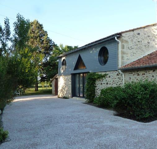 Gite rural 5 pers.110 m², 2 chambres,jardin 3000m² - Les Cerqueux-Sous-Passavant - House