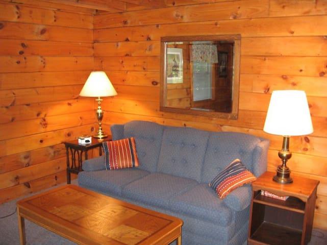 Cabin 13: Logs & Dogs - Barnet - Houten huisje