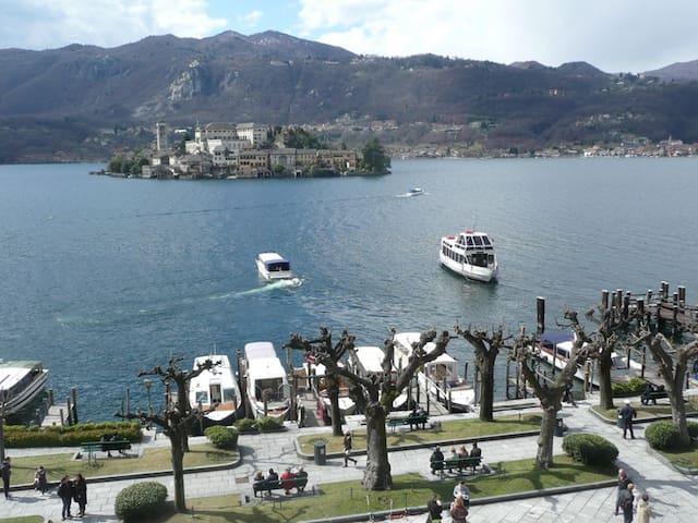 Venere with fanastic island view! - Orta San Giulio
