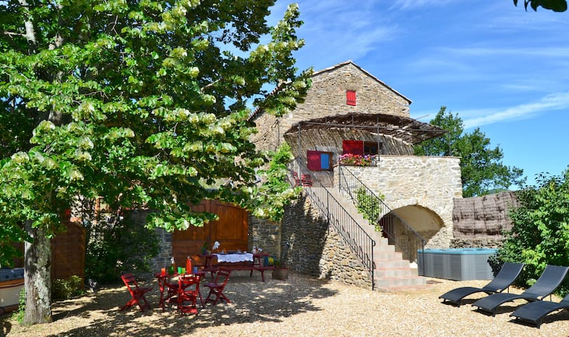 Holiday cottage with sauna and spa - Saint-Brès - Casa