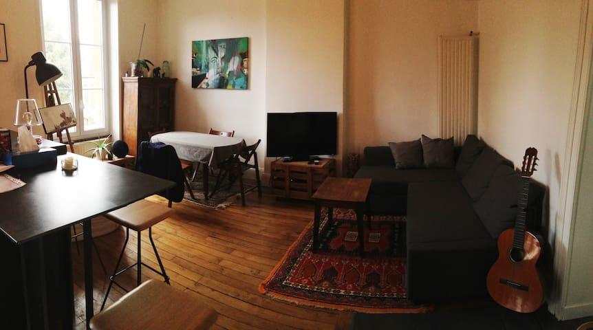 Appartement tout confort en hyper centre - Charleville-Mézières - Daire
