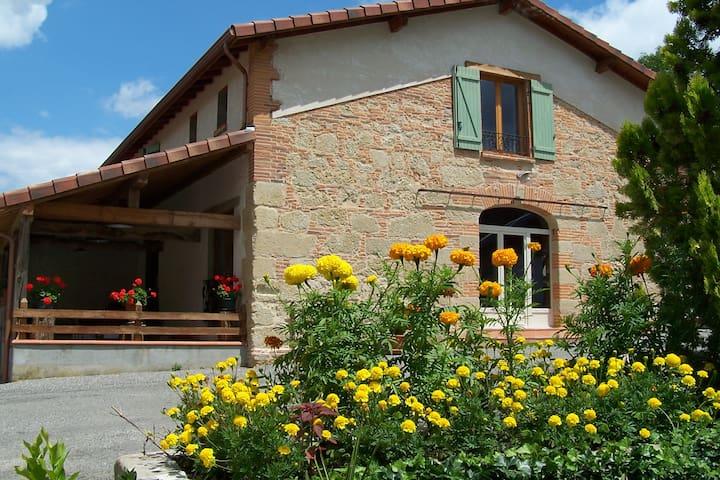 Chambres d'hôtes du moulin d'encor - Seysses-Savès - Bed & Breakfast
