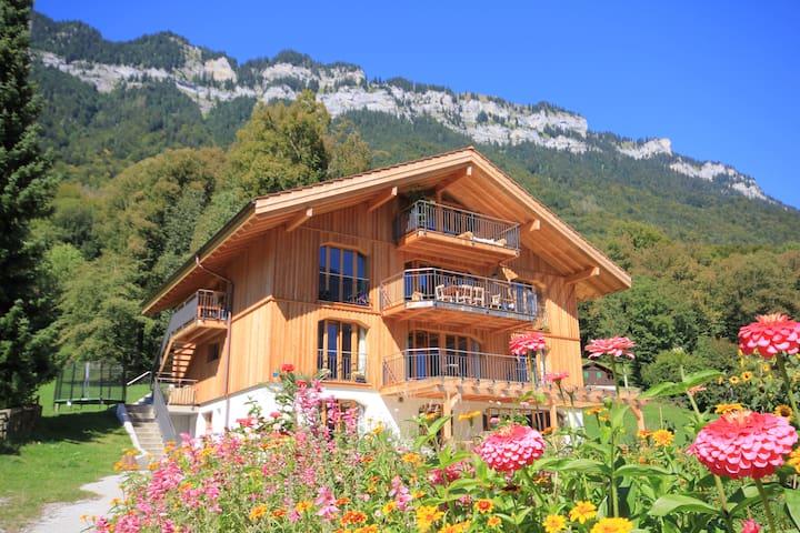 Modernes XL Naturhaus in Traumlage - Ringgenberg