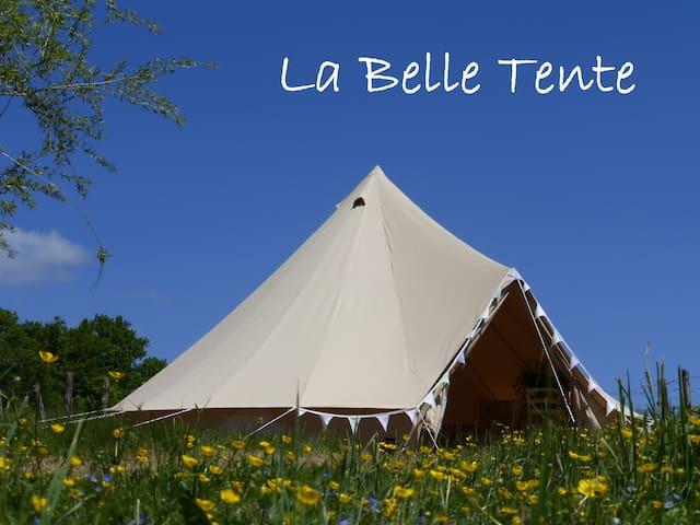 La Belle Tente shabby-chic glamping - Arnac-Pompadour - Zelt