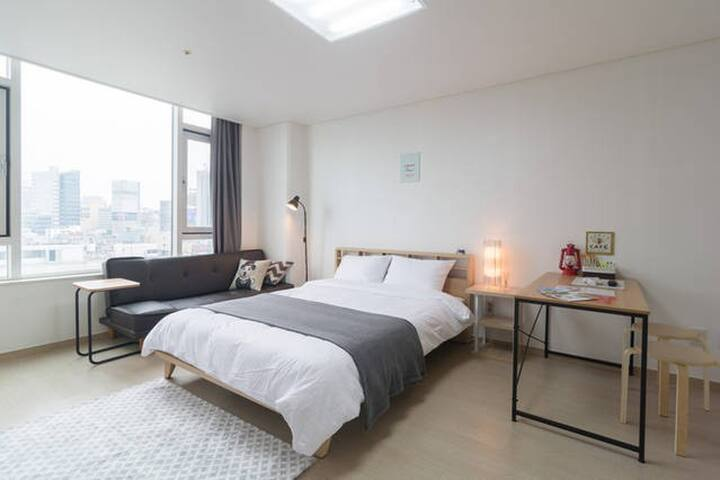 New open. Sinsa station Comfy studio - Seocho-gu - Appartement