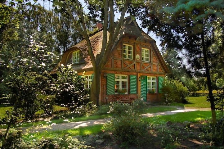 Ferienhaus Idylla, reedgedeckt - Essel - Maison