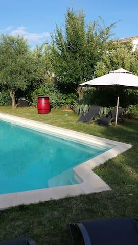 Villa au calme en Pic St Loup - Saint-Jean-de-Cornies - Villa