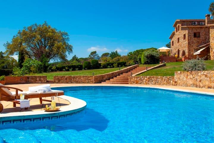 Masia Cal Agusti - Casa campo lujo - Tordera - Casa