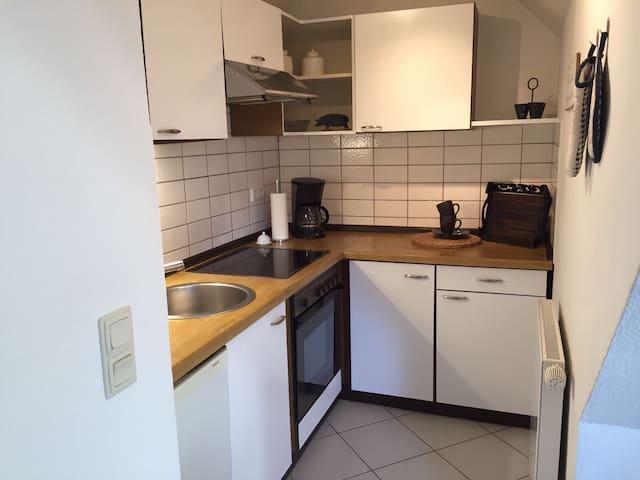 Gemütliche DG-Wohnung im Herzen Rendsburgs - Rendsburg - Lägenhet