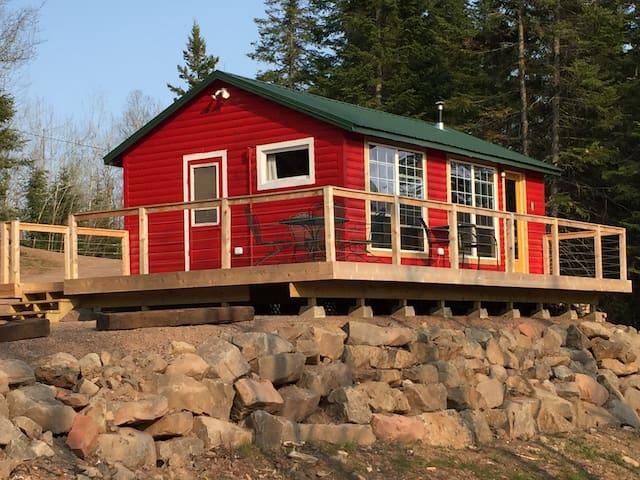 Cabin Brooke on the Baptism River - Finland - Hus