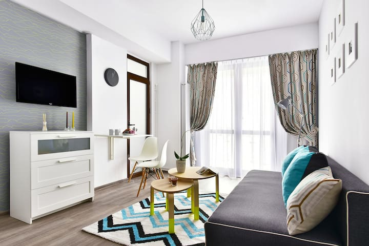 Cozy apartment in the centre - Palas Mall - Iași - Daire