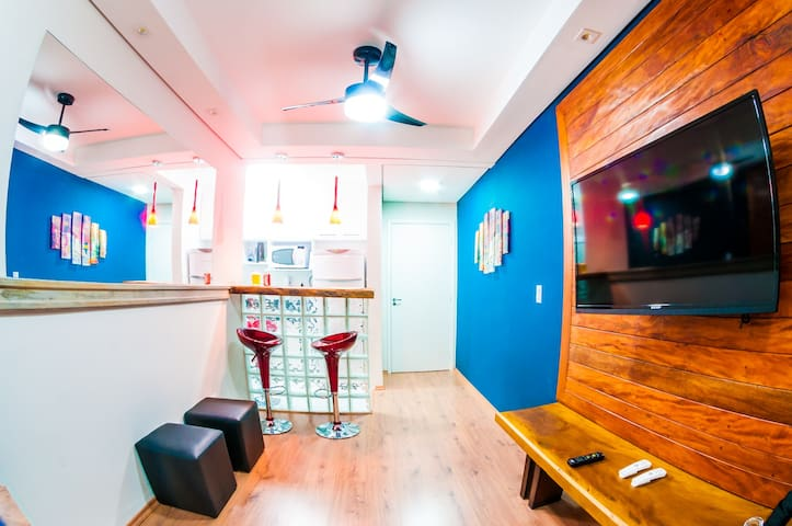 Apartamento Mobiliado e decorado! - Sorocaba - Daire