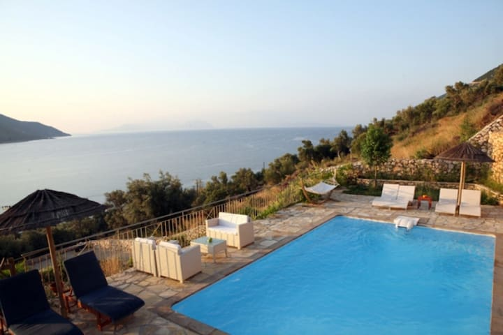 Calmwave Villas- Villa Helena-Sea View-Private ... - Ponti Agiou Petrou - Villa