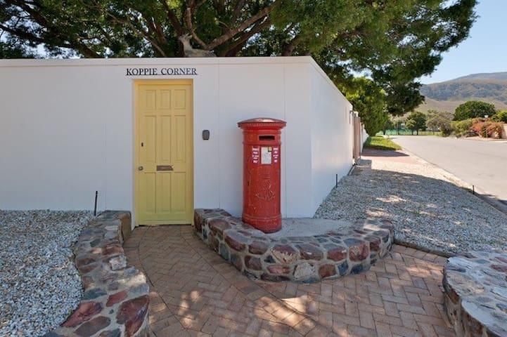 Cosy Garden cottage @ the Yellow door - Hermanus