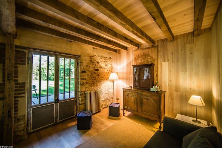 Eco-Cottage du Moulin//Chbre(labellisée PMR)+Sdb - Saint-Léger-en-Bray