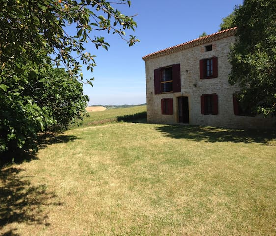Heavenly Farmhouse in the Languedoc - Airoux - Inny