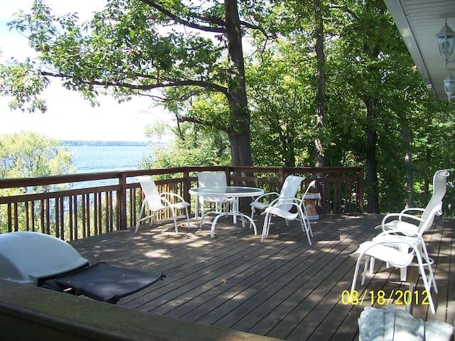 Finger Lakes cottage on Seneca Lake - Geneva - Casa