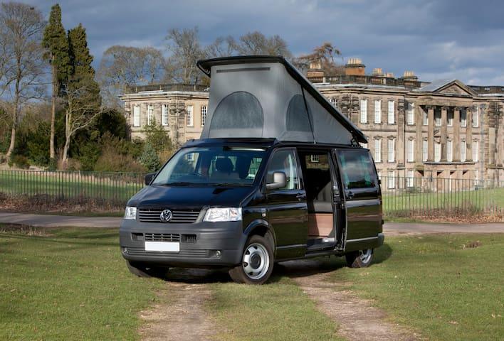 Newly Converted T5 VW LWB Camper - Derby - Campingvogn