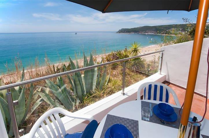 Beach view ocean front& big balcony - 塞新布拉