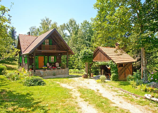 Enchanting wooden house in the countryside - Skrad - House