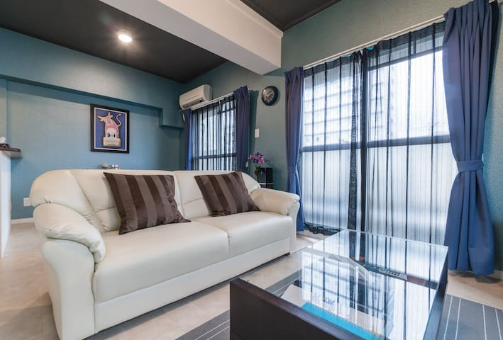 4 minutes on foot from Kobe Station - Kōbe-shi - Appartement