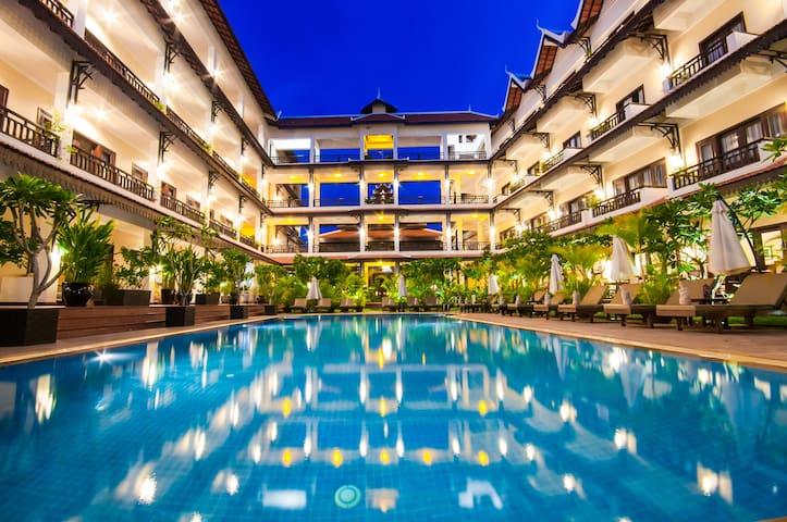 Deluxe Pool View/Free Breakfast&pick up&Wifi - Krong Siem Reap - โรงแรมบูทีค