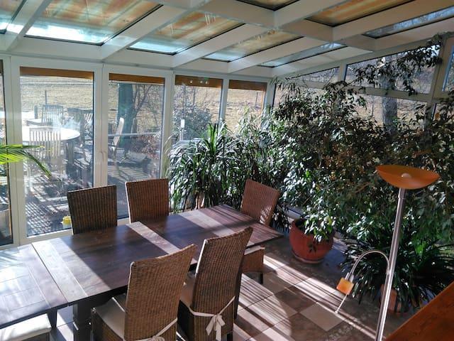 Gemütliche,  tolle Ferienwohnung auf Pferdehof - Dauchingen - Apartament