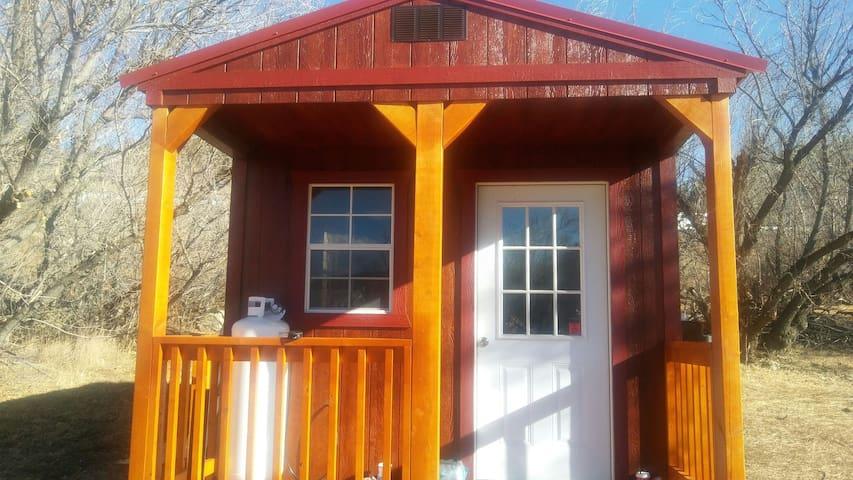 Morley Adventure Cabin - Private Ghost Town - Trinidad - Kulübe