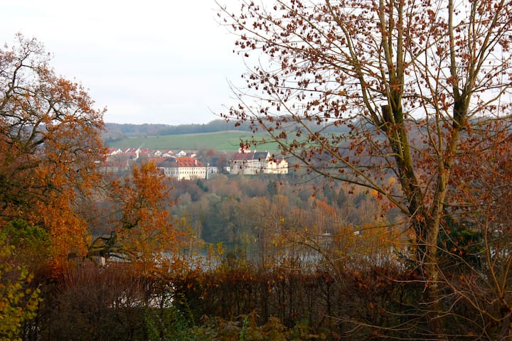 Zimmer mit Ausblick und Terrasse - Seefeld-Hechendorf - Hus