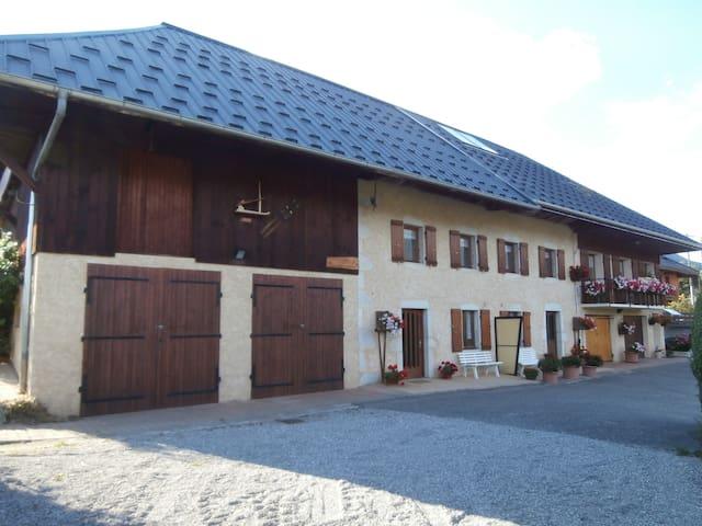 La Pierre Carrée - Bellecombe-en-Bauges - Casa