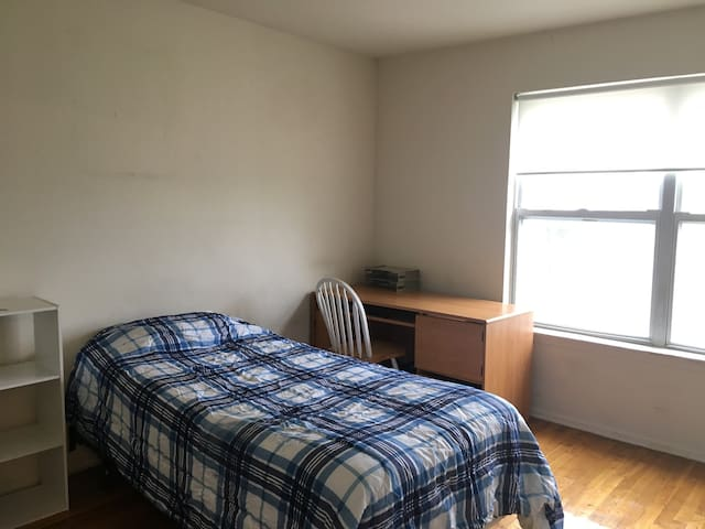 nice/cheap bedroom close to Rutgers and train - Piscataway Township - Lägenhet