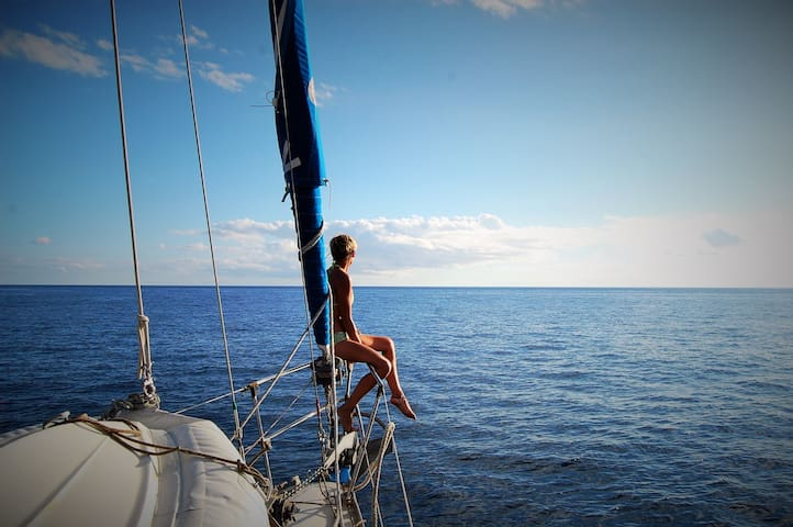 ENJOY THE CARIBS STAYING ON OUR SAILING BOAT! - Marigot
