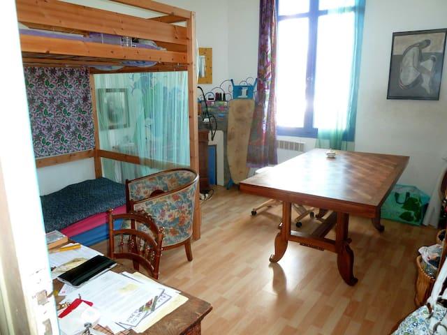 1 chambre dans une maison charmante - Cenon - Haus
