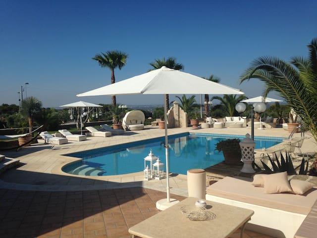 Villa delle Ulie - Ch. Alba & Sole - Pozzo Nuovo-paradiso - Bed & Breakfast
