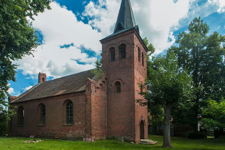 holiday in prussian village church - Havelsee - Loft-asunto