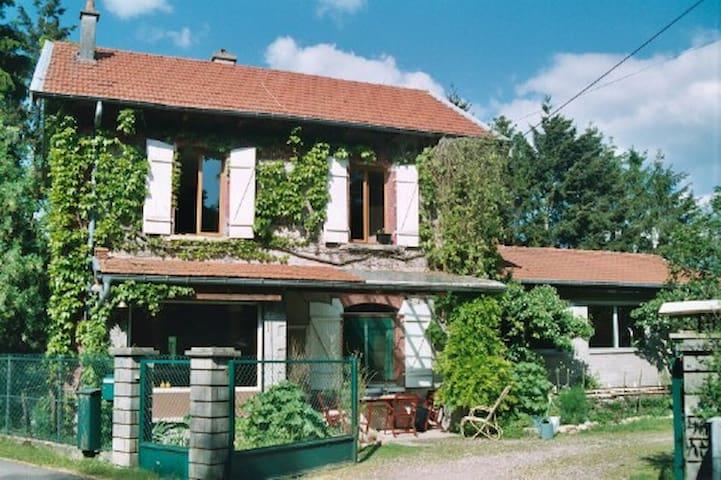 """""""La gare"""" maison individuelle - Ogéviller - Huis"""