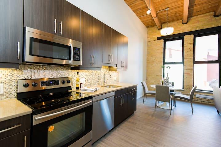 Urban Loft 1BR - Exchange District - Winnipeg - Ortak mülk