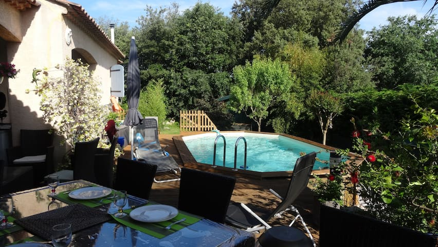 House for 6 Person in North East of Montpellier - Sussargues - Vila