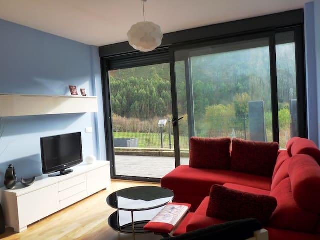 Apartamento de tres habitaciones en Caravia Alta - Caravia - Departamento