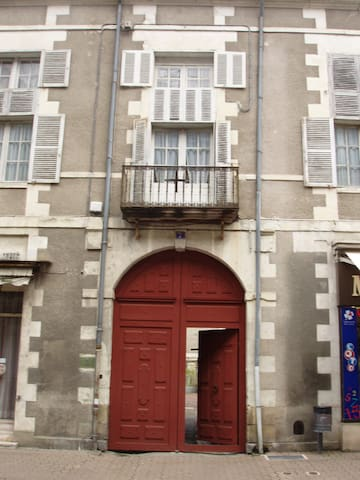 Historical Hotel Particulier Appt - Richelieu - 公寓