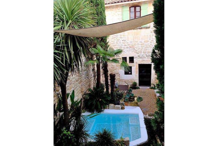 Habitación doble en Junas, Francia - Junas - Casa