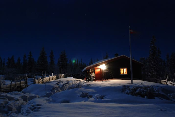 Vinterstuggua, the winter cabin from 1918 - Vestre Gausdal - Natur-Lodge